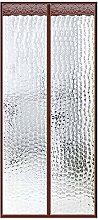 HMHD Magnetic Thermal Door Curtain, Anti Rain and