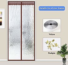 HMHD Magnetic Thermal Insulated Door Curtain,