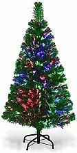 HMWD Multicolour Changing Lights Fibre Optic Tree