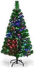 HMWD Multicolour Changing Lights Fibre Optic Tree