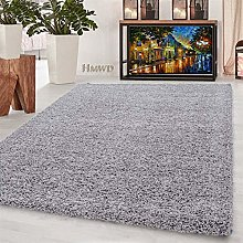 HMWD ® Small Extra Large Non Shed Soft Shaggy Rug