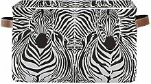 HMZXZ Rxyy African Zebra Skin Head Canvas Fabric