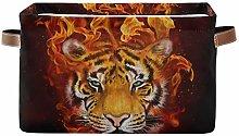 HMZXZ Rxyy Animal Tiger Painting Canvas Fabric