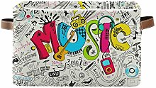 HMZXZ Rxyy Art Painting Musical Quote Canvas