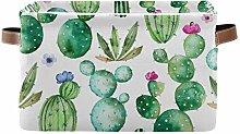 HMZXZ Rxyy Cactus Cacti Purple Flowers Print
