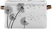 HMZXZ Rxyy Dandelion Art Painting Canvas Fabric