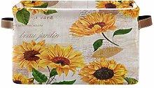 HMZXZ Rxyy Summer Floral Flower Sunflower Canvas