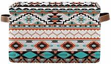 HMZXZ Rxyy Tribal Ethnic Aztec Geometric Canvas