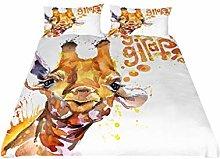 HNHDDZ Child Teens Duvet Cover Pillowcase Cartoon