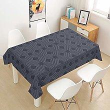 HNHDDZ Rectangular Tablecloth Waterproof, Bohemia