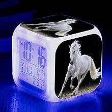 HNMB-WLKJ Horse LED Color Changing Glowing Digital