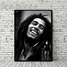 HNTHBZ Canvas Painting Bob Marley Poster HD Print