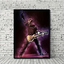 HNTHBZ Canvas Painting James Hetfield Poster