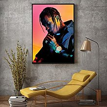 HNTHBZ Fashion canvas painting Modern Watercolor