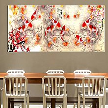 HNTHBZ Fashion canvas painting Print Chinese