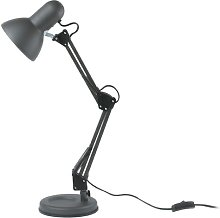 Hobby 55cm Desk Lamp Leitmotiv Finish: Black