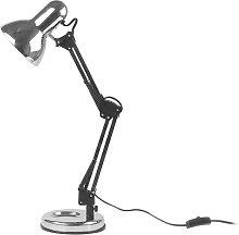 Hobby 55cm Desk Lamp Leitmotiv Finish: Silver