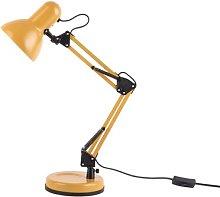 Hobby 55cm Desk Lamp Leitmotiv Finish: Yellow