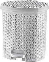 Hobby Life Rattan Style Plastic Pedal Bins 3 to 21