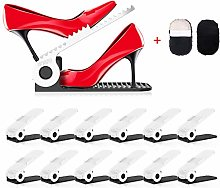 HOBFU Adjustable Shoe Slots Organizer, Shoe Holder