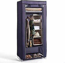 Hododou Portable Wardrobe Single Wardrobe Storage