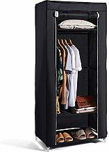 Hododou Portable Wardrobe Single Wardrobe Storage