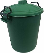 HoitoDeals 50L Plastic Heavy Duty Waste Bin
