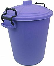 HoitoDeals 80L Plastic Heavy Duty Waste Bin