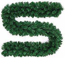 HoitoDeals 9ft Green Large Christmas Garland