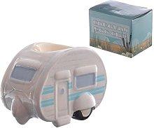 HoitoDeals Ceramic Novelty Caravan Egg Cup (1Pcs)