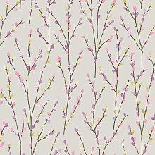 Holden Decor - Catkins Floral Wallpaper Holden