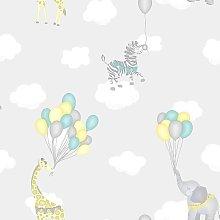 Holden Decor Kids Childrens Animal Balloons