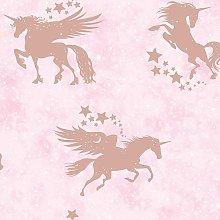Holden Kids Iridescent Unicorns Stars Metallic