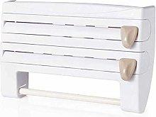 Holder Paper Dispenser Wall Kitchen Roll Holder