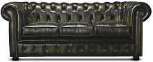 Holdrege 3 Seater Chesterfield Sofa Rosalind