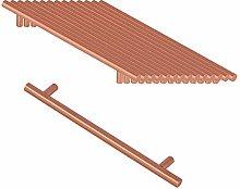 Hole Center 224mm Kitchen Cabinet Handle Copper