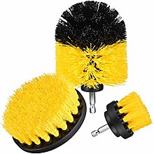 Holife Drillbrush, 3 Pcs Nylon Drill Powered