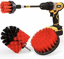 Holikme 4Pack Drill Brush Power Scrubber Cleaning