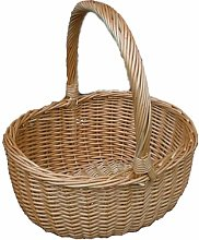 Hollander Shopping Wicker Basket Brambly Cottage