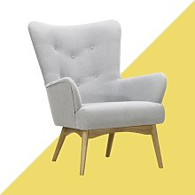 Holli Wingback Chair Hashtag Home Upholstery: