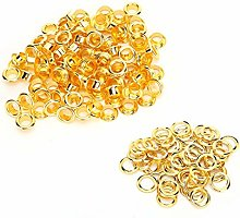 Hollow Rivet Gold Durable Grommet Setting Tool for