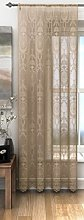 Holly Latte Beige Ready Made Lace Net Style Slot