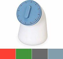Homco CP214 Kitchen Timer & Salt Storer-Blue, Nylon