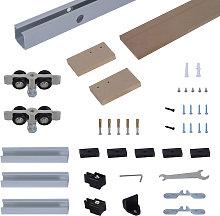 HOMCOM 6.5FT /2000mm Modern Sliding Barn Door