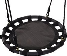 HOMCOM 60cm Kids Hanging Tree Swing Nest Seat