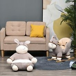 HOMCOM Animal Kids Sofa Chair Cartoon Cute Donkey