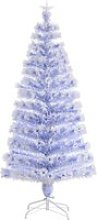 HOMCOM Artificial Fibre Optic Christmas Tree