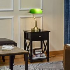 HOMCOM Banker's Table Lamp Desk Lamp with