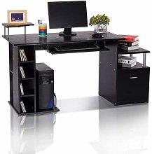 HOMCOM Computer Desk PC Workstation with Drawer