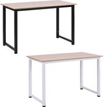 HOMCOM Computer Desk PC Writing Table Home Office